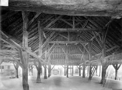 Halle aux grains - Vue intérieure