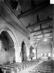 Eglise Saint-Georges - Vue intérieure de la nef, vers le nord-est
