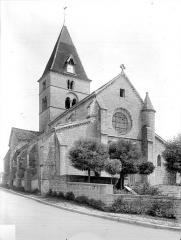 Eglise Saint-Seine - Ensemble nord-ouest
