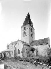Eglise Saint-Seine - Ensemble sud-est