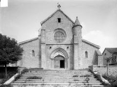 Eglise Saint-Seine - Façade ouest
