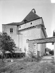 Château de Rosières - Ensemble sud-est