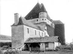 Château de Rosières - Ensemble nord-ouest