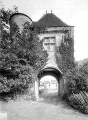 Château de Rosières - Porterie, côté extérieur