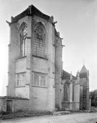 Eglise Saint-Thibault - Abside, côté nord-est