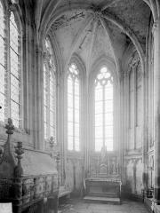 Eglise Saint-Thibault - Vue intérieure de la chapelle saint Gilles, côté nord