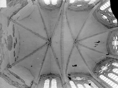 Eglise Saint-Thibault - Voûtes du choeur