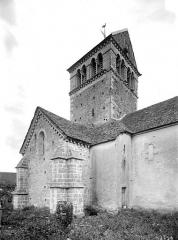 Eglise Saint-Pierre-et-Saint-Paul - Façade nord : Transept et clocher
