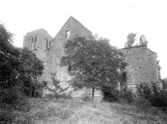 Collégiale de Thil (ruines) - Ensemble sud