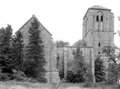 Collégiale de Thil (ruines) - Ensemble nord
