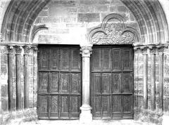 Eglise Saint-Germain d'Auxerre - Portail de la façade ouest