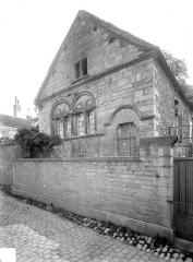Immeuble dit Maison Bélime - Pignon de la façade sur rue