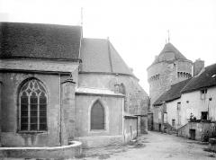 Ancien prieuré - Abside, côté sud