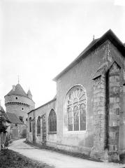 Ancien prieuré - Façade nord