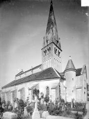 Eglise - Ensemble nord-ouest et clocher