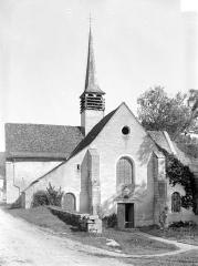 Ancienne Abbaye cistercienne de la Bussière, actuellement Centre d'accueil et de rencontre - Ensemble ouest
