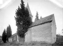 Chapelle de Fixey - Ensemble nord-ouest