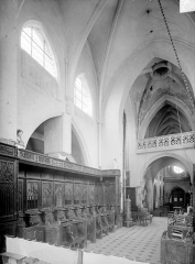 Eglise Saint-Genest - Vue intérieure du choeur, vers le sud-ouest