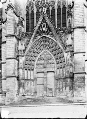 Ancienne cathédrale Saint-Etienne - Portail nord