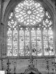 Ancienne cathédrale Saint-Etienne - Vitrail du transept nord