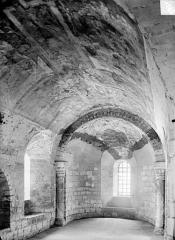 Ancienne cathédrale Saint-Etienne - Crypte : Peintures murales