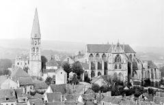 Abbaye Saint-Germain - Vue générale prise du sud