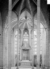 Abbaye Saint-Germain - Vue intérieure d'une chapelle absidale