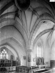 Eglise Saint-Germain d'Auxerre - Vue intérieure du choeur et de la chapelle sud