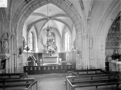 Eglise Saint-Jean l'Evangéliste - Vue intérieure du choeur