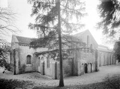 Abbaye de Fontenay - Eglise : Ensemble nord-est