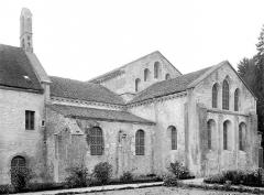 Abbaye de Fontenay - Eglise : Abside, côté sud-est