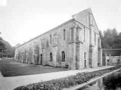 Abbaye de Fontenay - Bâtiment de la forge : Ensemble nord-est