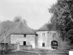 Abbaye de Fontenay - Porterie : Façade extérieure