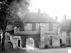 Abbaye de Fontenay - Porterie : Façade intérieure