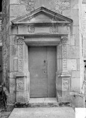 Abbaye de Fontenay - Logement abbatial : Petite porte