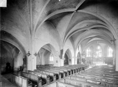 Eglise Saint-Aignan - Vue intérieure de la nef vers le nord-est