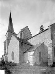 Eglise - Façade sud en perspective