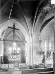 Eglise Saint-Maurice - Vue intérieure du choeur