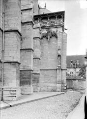 Eglise Notre-Dame et son presbytère - Façade sud : Chapelle des fonts baptismaux