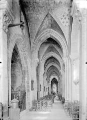 Eglise Notre-Dame et son presbytère - Vue intérieure du bas-côté nord, vers l'est