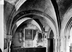 Eglise Notre-Dame et son presbytère - Sacristie : Vue intérieure