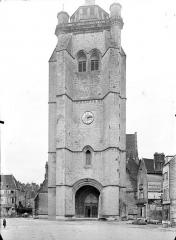 Eglise Notre-Dame - Ensemble ouest : Tour clocher