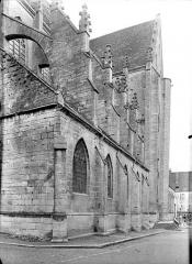 Eglise Notre-Dame - Façade nord en perspective