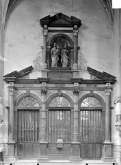 Eglise Notre-Dame - Sainte-Chapelle : Porte