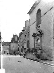 Couvent des Carmélites de Dole - Façade sur rue : Portail