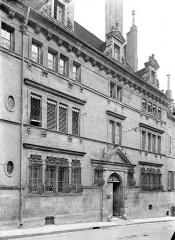 Hôtel de Froissard dit aussi hôtel de Balay - Façade sur rue