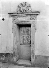 Hôtel de Champagney - Petite porte