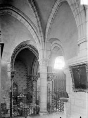 Eglise Notre-Dame - Vue intérieure de la chapelle des fonts baptismaux