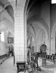 Eglise Saint-Valérien - Vue intérieure du choeur vers le sud-est