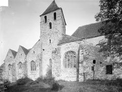 Eglise Saint-Loup - Façade sud